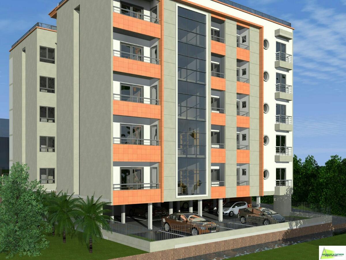 Projet immobilier de 19 appartements proposé par la SCI MAISON à Yaoundé au quartier Santa Barbara